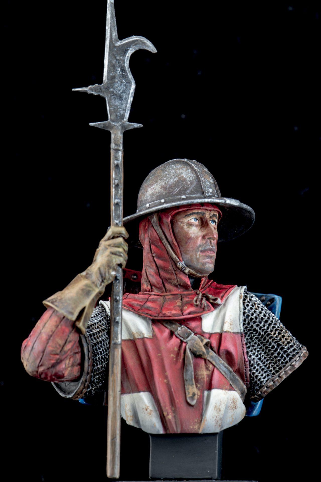 English Man-at-Arms, Crecy, 1346