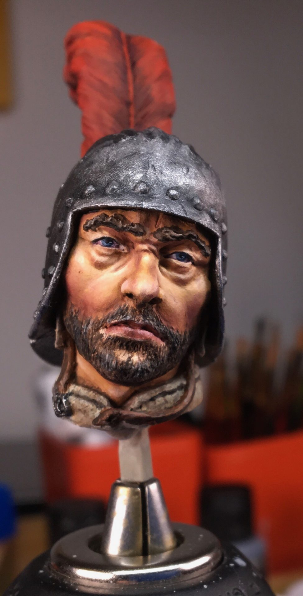 Read more about the article Uomo d'arme Sforzesco (Man at arms) WIP p1