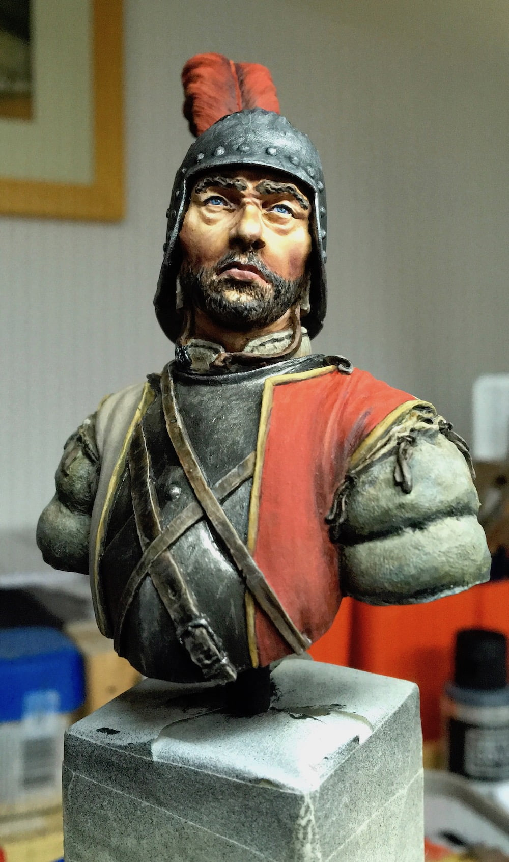 Read more about the article Uomo d'arme Sforzesco (Man at arms) WIP p2